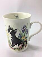 Crown Trent  Staffordshire Kitten's & Dragonfly Tea/Coffee Mug Fine Bone China