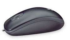 Logitech M100 3-Button USB Optical Wired Scroll Mouse  (Gray) -FREE SHIPPING