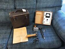 Antique Hart Moisture Gauge Steam Punk Vtg Wood Tool 1947