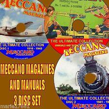 Collection de chaque MECCANO MAGAZINE publié + 400 MANUELS & plans 3 DVDs