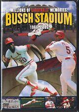 Millions of Cardinal Memories: Busch Stadium 1966-2005 (DVD, 2005) St. Louis MLB