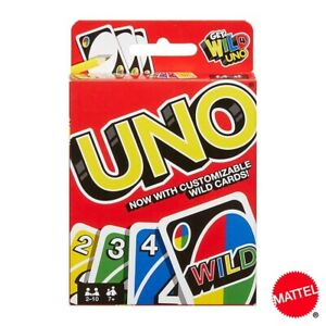 Mattel UNO Games Family Funny Entertainment Board Game Fun Playing Cards