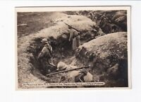 Foto 1. Weltkrieg A Practice With R.C. Dogs In The Trenches Near Luippes (Marne)