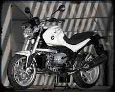 Bmw R1200R 08 A4 Metal Sign Motorbike Vintage Aged