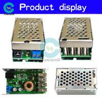 4-port Step Down USB 24V/12V to 5V 5A Buck Power Supply Converter Board+Case