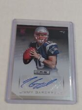 JIMMY GAROPPOLO 2014 PANINI ROOKIES AND STARS ROOKIE RC AUTO AUTOGRAPH CARD!