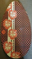 """Triangle Products Tropical Beach Boogie Board 37"""""""