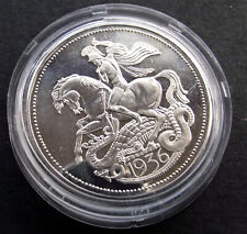 More details for a rare, restrike edward viii 1936 great britain proof pattern fantasy crown