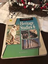 Heritage Studies 6, Second Edition, BJU Press,