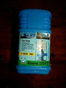 Gaz Camping Bivouac 270 PZ Mini Portable Gas Lantern In Original Plastic Case