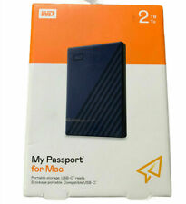 WD Western Digital My Passport 2TB External Portable Storage For Mac BRAND NEW