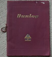 Dunlop 1938, 50 Years of Growth book issued by Dunlop Rubber Company