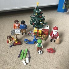 Playmobil 3931 Light Up Christmas Tree Santa Figure & Accessories Set
