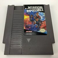 Mission: Impossible (Nintendo Entertainment System, 1990) Authentic-Tested