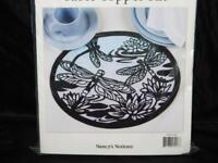 """Nancy's Notions Dragonfly Waltz Table Topper Quilt Kit Dragonflies NEW 14.5x17"""""""