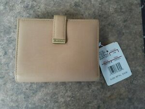 Buxton Tan Folding Wallet with Change Compartment NWT