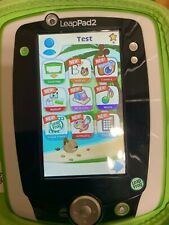 LeapFrog LeapPad 2- Green with Case, Charging Cable and 4 Game Cartridges