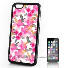 ( For iPhone 4 / 4S ) Back Case Cover P30259 Pink Flower