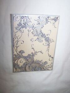 Papyrus Any Occasion Greeting Card and Envelope; Sparkly Silver Vines