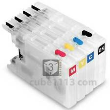 Refillable Ink Cartridges for Brother LC-79 MFC-J6510DW MFC-J6710DW MFC-J6910DW