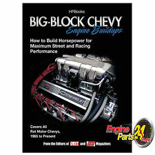 CHEV 396 427 454 502 BOOK BIG BLOCK CHEVY ENGINE BUILD UPS HP1484