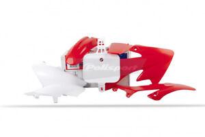 Polisport Plastic Fender Body Kit Set OE Red White Honda XR50R 2000-2003