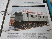 Lokaufriss DRG 56 E75 DB E 75 Güterzugslok 1927