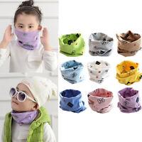 Baby Boys Girls Children Toddler Collar Scarf Cotton Warm Wraps Tube Neckerchief