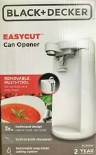 Black & Decker - EC500W - EasyCut Extra-Tall Can Opener - White