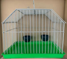 Small Pet Bird Lizard Transporter Carrier Cage