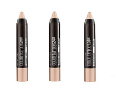 Lot of 3 Maybelline Eyestudio Color Tattoo Concentrated Crayon Barely Beige