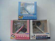 B747 JAL Dream Express Family Sweet Friends Tomy diecast planes scale 1/400