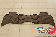 2013-2017 Dodge Ram 1500 Quad Cab Canyon Brown Rear Floor Mat Mopar OEM