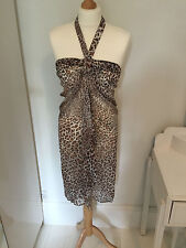 Gottex Collection - Into the Wild Bandeau Dress/Skirt 100% Silk - (NWT)
