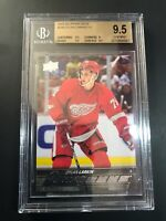 2015-16 Upper Deck Dylan Larkin Young Guns Rookie BGS 9.5