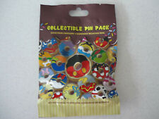 DONUTS  Disney Pin 5 PINS 2014 Donut  Collectible PIN PACK Mystery NEW