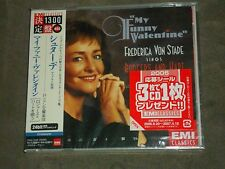 My Funny Valentine - Frederica Von Stade Sings Rodgers & Hart Japan CD sealed