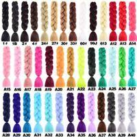 78.7cm Kanekalon Jumbo Tresses Premium Tressage Cheveux à Coudre Extensions de