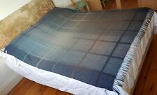 BNWT Paul Smith Andromeda Ombre Slate Window Pane Blanket / Throw (RRP £300)