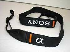 SONY ALPHA camera strap , pictured model,    #001469