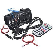 NUEVO Coche Bluetooth HiFi BAJO Estéreo Amplificador TF remoto USB SD MP3