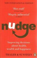 Nudge by Thaler & Sunstein NEW