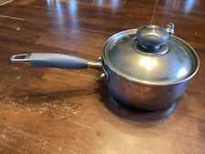 New listing Royal Prestige 1-1/2 Qt/1,4L Pot With Lid T-304 Surgical Stainless Steel 9-ply C