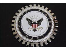 USA Navy United States Grille Badge Bumper License Topper Accessory Chrysler USN