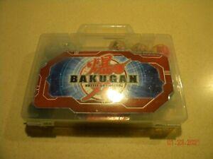 Bakugan Battle Brawlers Lot Of 12 w/  Ball Storage Carrying Case 24 CARDS