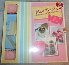 MINI TREATS SWEET CAKE RECIPE BOOKS BAKING RRP£16 BIRTHDAY GIFT KIT SET