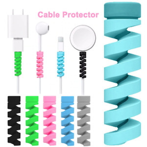 10Pcs Charging Cable Protector For Phones Cable holder Cover cable winder clip