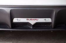 Vinyl Graphics Decal Subie Reverse Light Insert for Subaru BRZ 2013-2014 Silver