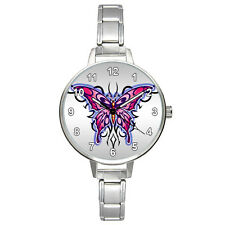 Celtic Butterfly Totem Stainless Steel Italian Charm Mens Ladies Watch BM834
