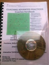 FOOTBALL COACHING UEFA 'A' & 'B'  PRACTICES, FITNESS & FORMATIONS HANDBOOK &  CD